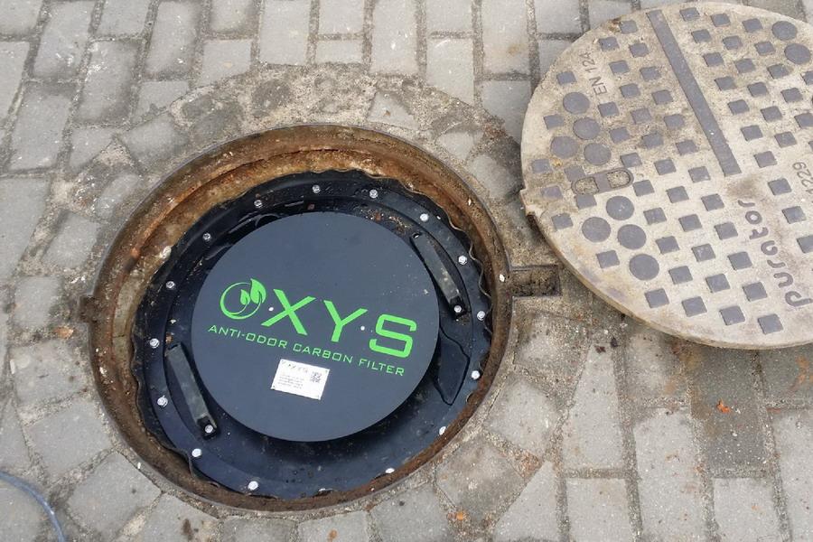 OXYS szénszűrő - beépités11