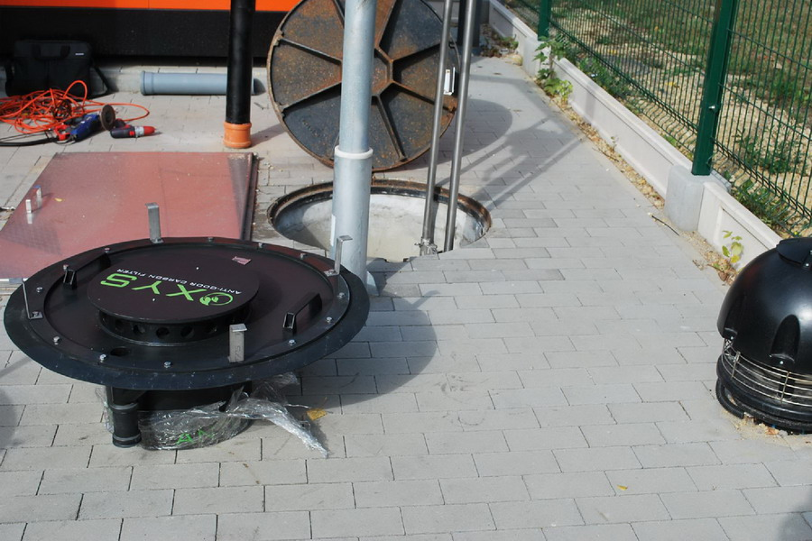 OXYS szénszűrő - beépités9